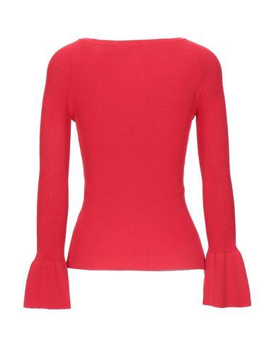 Фото 2 - Женский свитер KORALLINE красного цвета