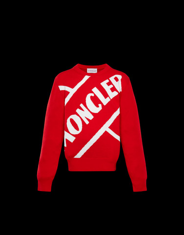 CREWNECK Red Junior 8-10 Years - Boy