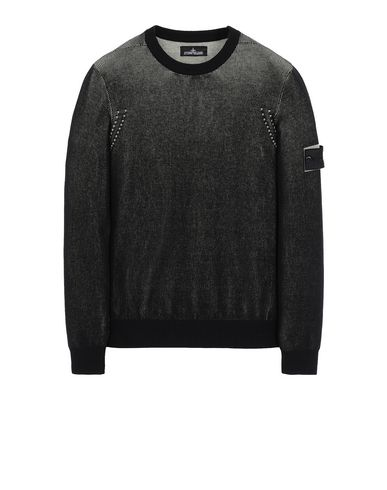 STONE ISLAND SHADOW PROJECT 509A1 CREWNECK VANISÉ Sweater Man Black EUR 275
