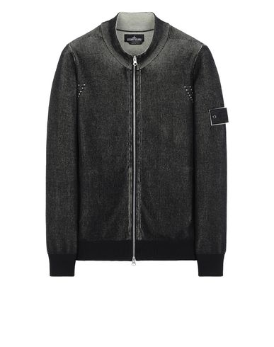 STONE ISLAND SHADOW PROJECT 508A1 TRACK JACKET VANISÉ Sweater Man Black USD 293