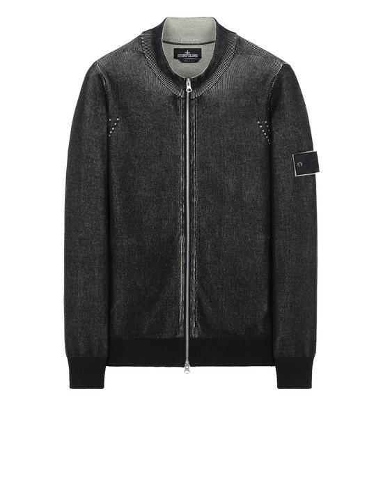 STONE ISLAND SHADOW PROJECT 508A1 TRACK JACKET VANISÉ Sweater Man Black