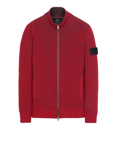 STONE ISLAND SHADOW PROJECT 508A1 TRACK JACKET VANISÉ Свитер Для Мужчин Красный EUR 405