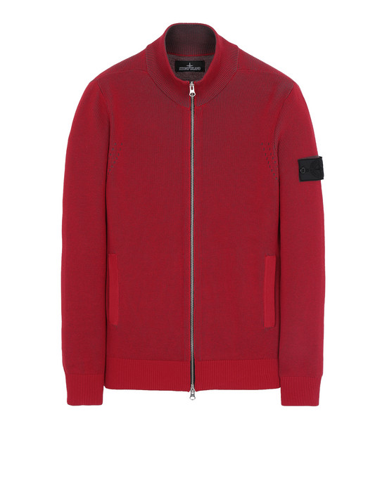 STONE ISLAND SHADOW PROJECT 508A1 TRACK JACKET VANISÉ Sweater Man Red