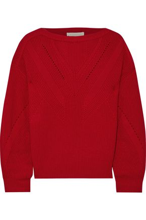 VANESSA BRUNO Ribbed wool and cashmere-blend sweater