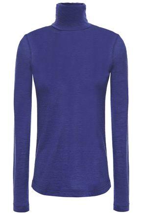 AKRIS Cashmere and silk-blend turtleneck sweater