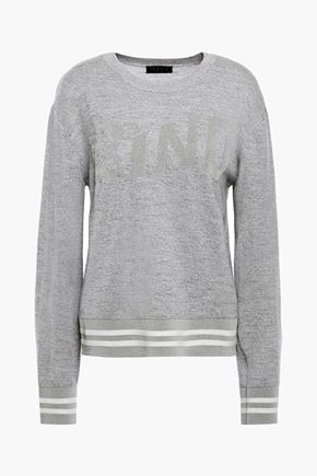 RAG & BONE Mélange intarsia wool-blend sweater