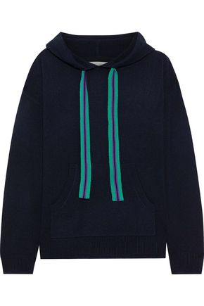 CHINTI & PARKER Ringmaster wool and cashmere-blend hoodie