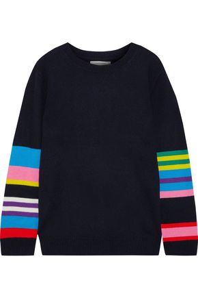 CHINTI & PARKER Striped wool and cashmere-blend sweater