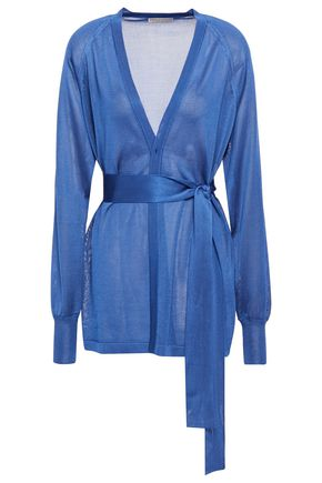 EMILIO PUCCI Belted knitted cardigan
