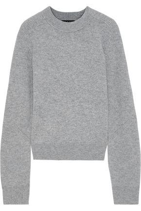 RAG & BONE Logan ribbed-paneled cashmere sweater