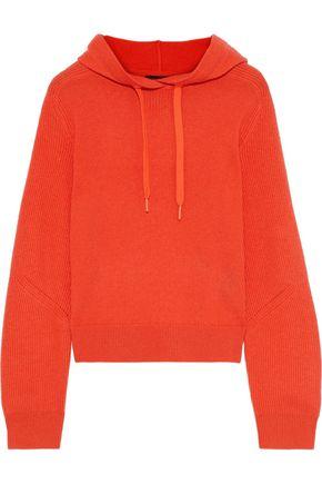 RAG & BONE リブ編みカシミヤ フード付きセーター