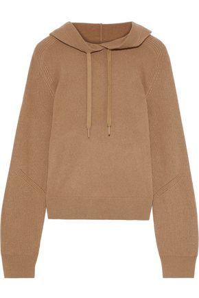 RAG & BONE Logan ribbed cashmere hoodie