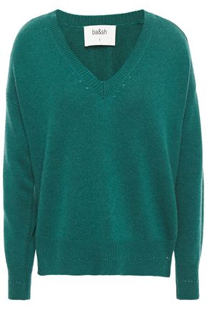 BA&SH Letters cashmere sweater