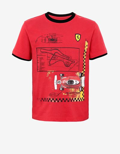 Children's T-shirt with Fiorano and 312 T print