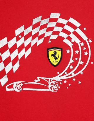 Scuderia Ferrari Online Store - Girls' printed jersey T-shirt - Short Sleeve T-Shirts