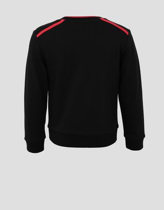 Scuderia Ferrari Online Store - Boys' mini-me Infinity jumper in French Terry - Crew Neck Jumpers