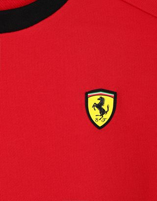 Scuderia Ferrari Online Store - Children's jumper in French Terry - Crew Neck Jumpers