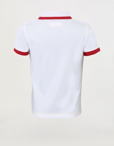 Children's polo shirt in cotton jersey