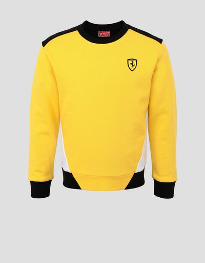 Children's jumper in French Terry