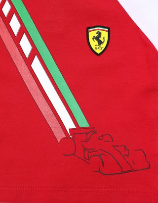 Scuderia Ferrari Online Store - Infant boys' stretch jersey T-shirt - Short Sleeve T-Shirts