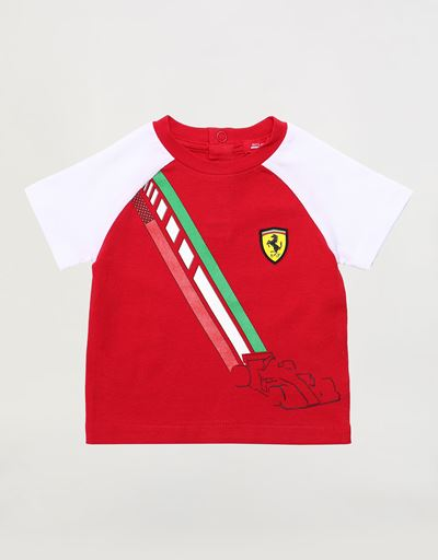 Stretch jersey infant T-shirt
