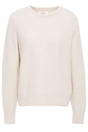 BA&SH Lago Ecume back-split textured cashmere sweater