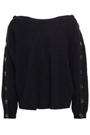 BA&SH Button-detailed wool-blend sweater