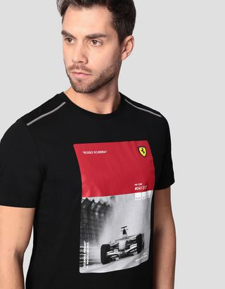 Scuderia Ferrari Online Store - Men's 248 F1 single-seater T-shirt - Short Sleeve T-Shirts