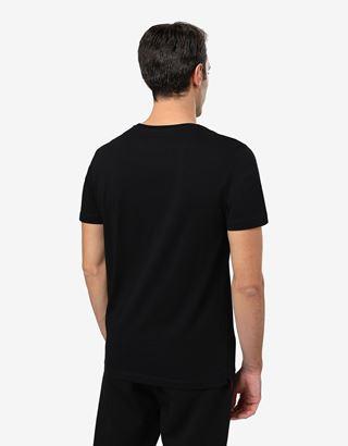 Scuderia Ferrari Online Store - T-Shirt für Herren aus Baumwolle mit technischen Auto-Print - Kurzärmelige T-Shirts