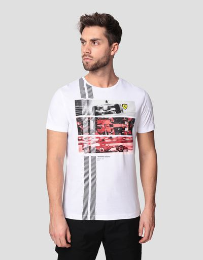 T-shirt uomo monoposto 248 F1 Winning Circuits