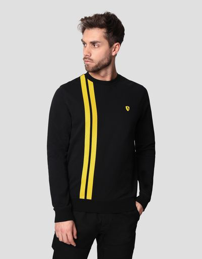 Men's Racing sweatshirt in French Terry