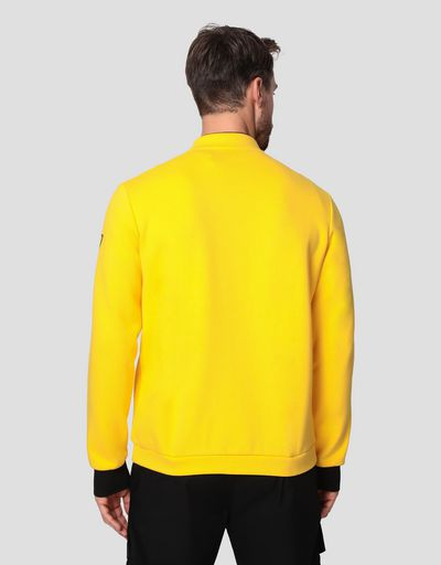 Men's Racing sweatshirt with driver's collar