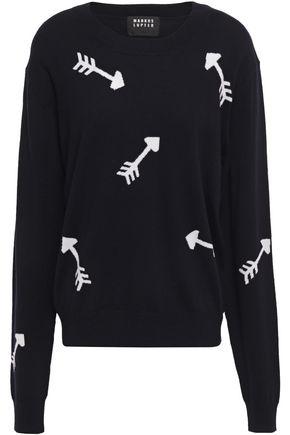MARKUS LUPFER Joey intarsia merino wool sweater