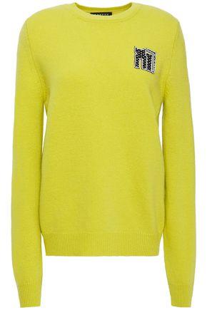MARKUS LUPFER Mia appliquéd wool sweater