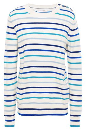 CHINTI & PARKER Striped cashmere sweater