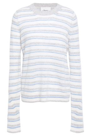 3.1 PHILLIP LIM Striped cashmere-blend sweater