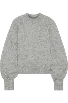 MARISSA WEBB Piper mélange brushed knitted sweater