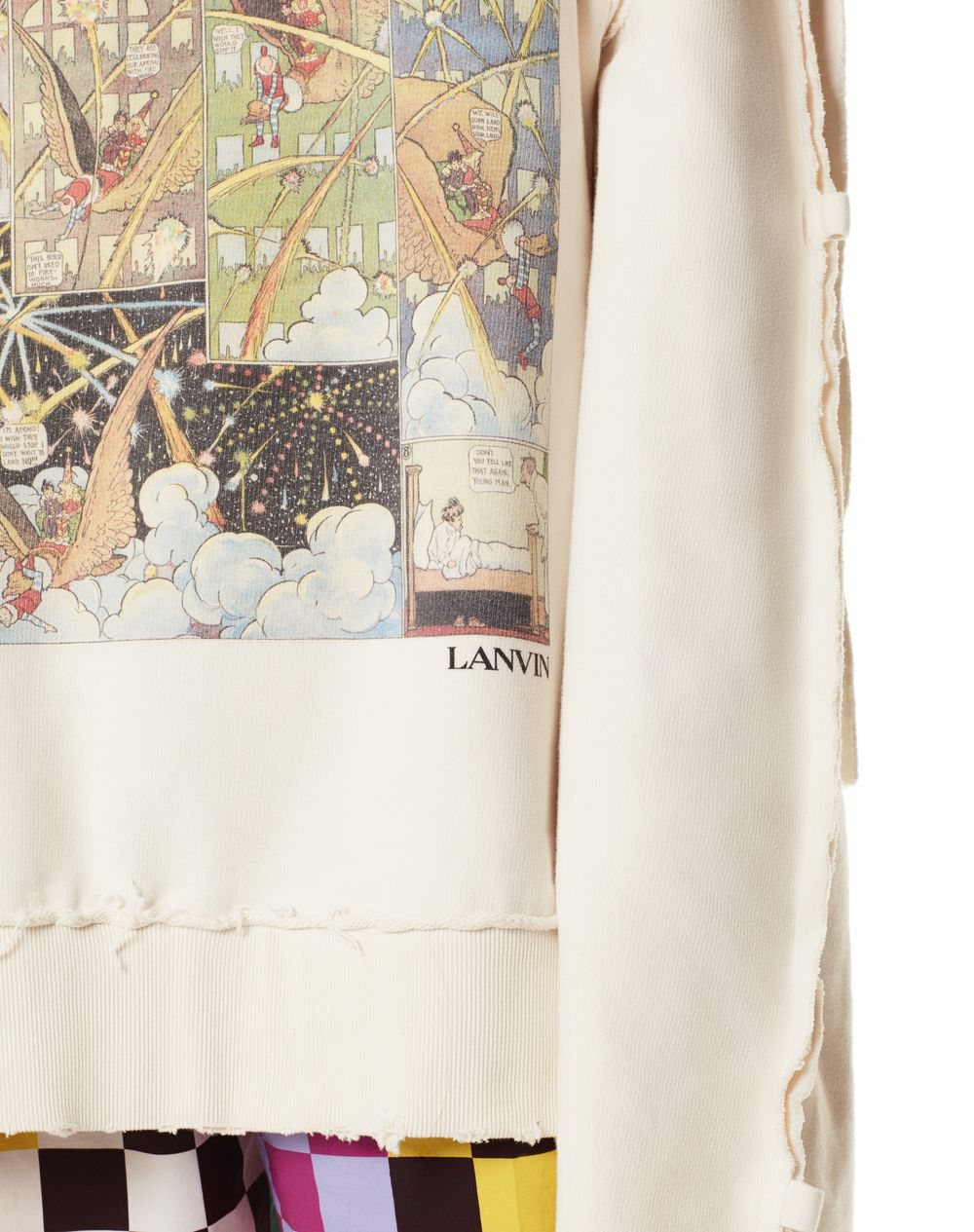 LITTLE NEMO PRINT SWEATSHIRT - Lanvin