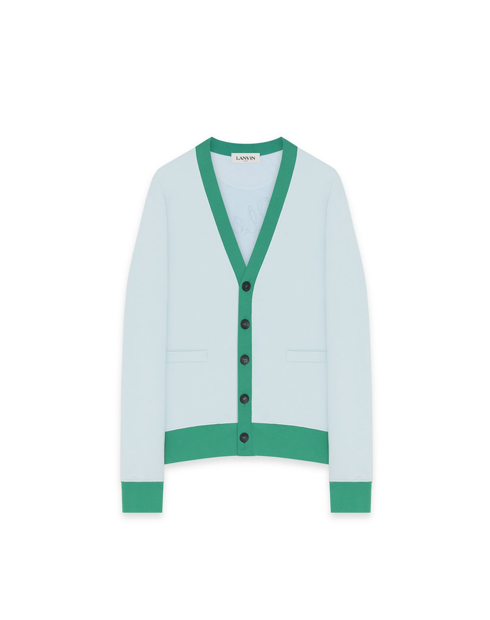 FULL SUN COTTON CARDIGAN - Lanvin