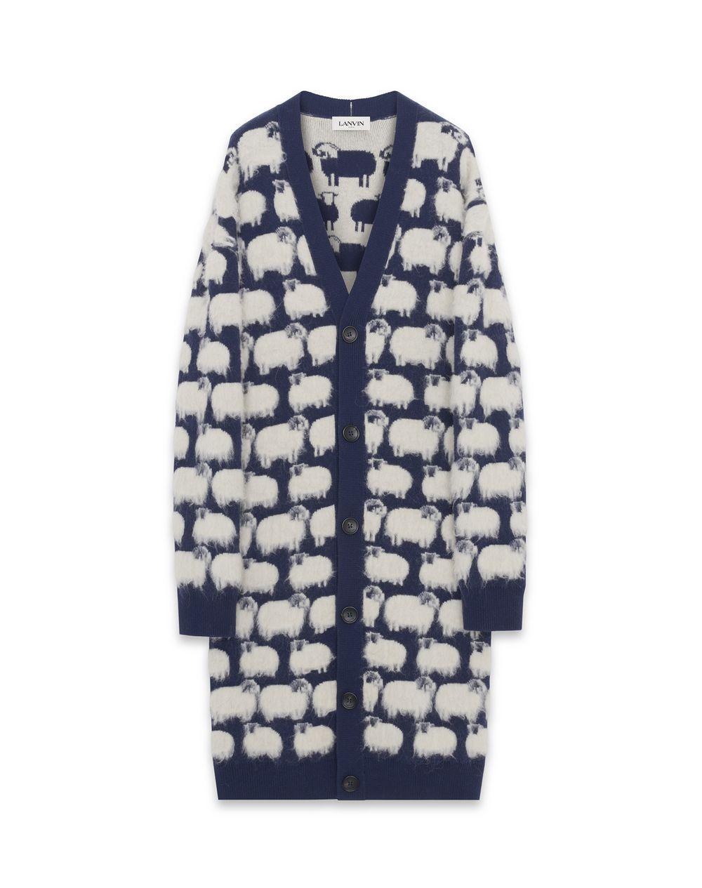 SHEEP PATTERN CARDIGAN - Lanvin