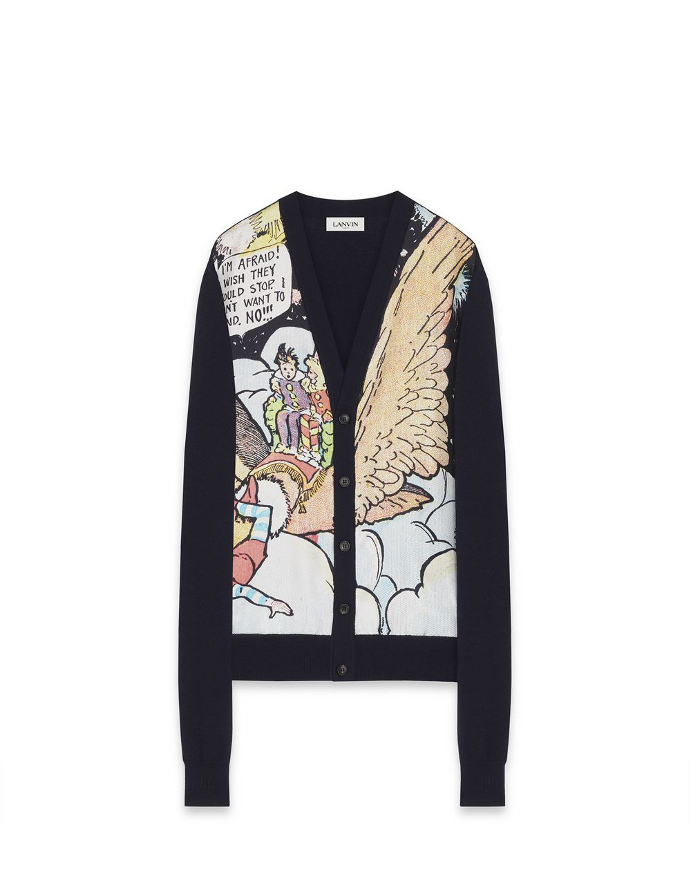 """LITTLE NEMO"" PRINT CARDIGAN - Lanvin"