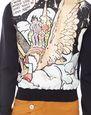LANVIN Knitwear & Sweaters Man PRINTED WOOL AND SILK SWEATER f