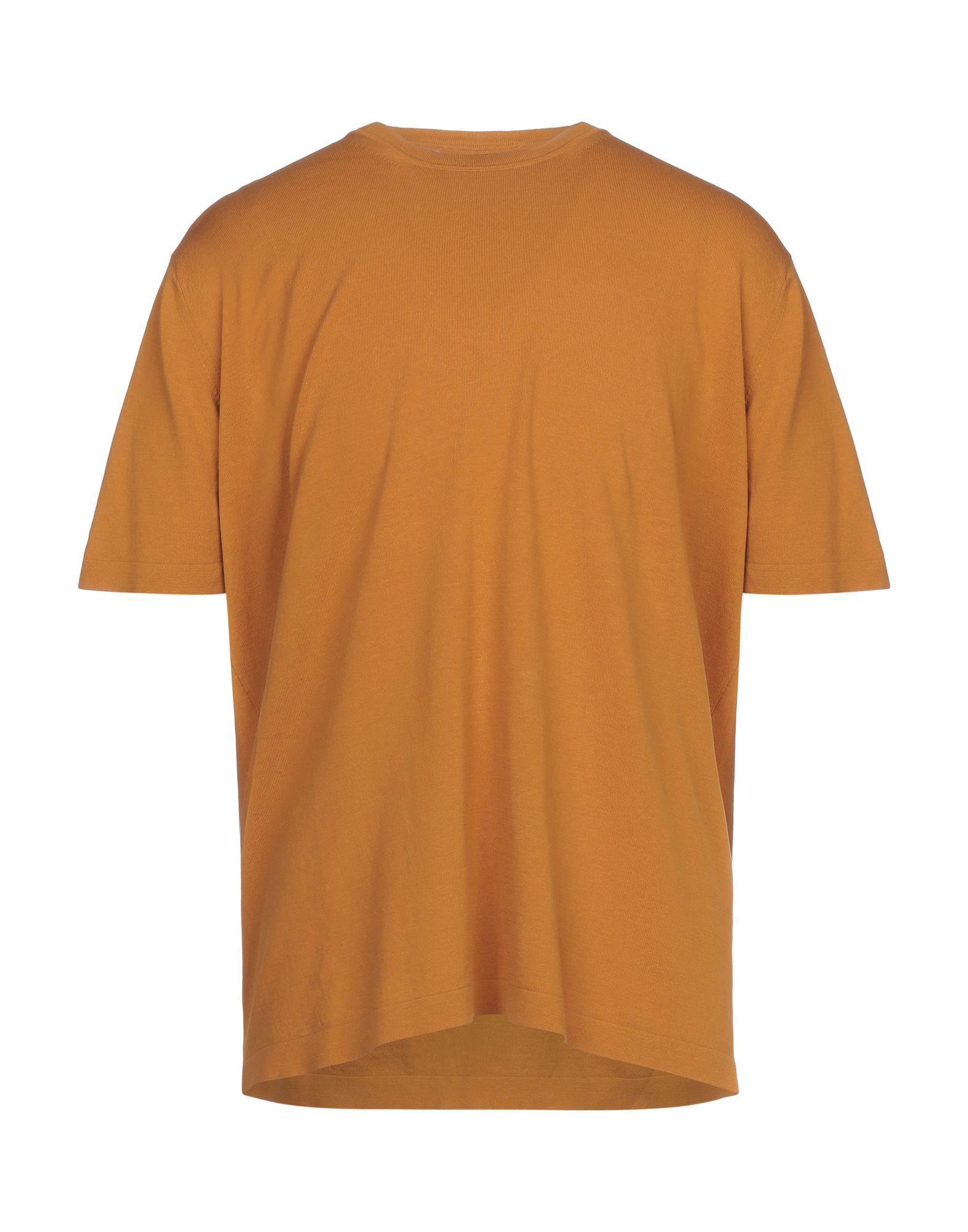 《セール開催中》FILIPPO DE LAURENTIIS メンズ プルオーバー 赤茶色 56 コットン 100%