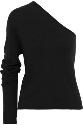 BASSIKE One-shoulder cashmere sweater