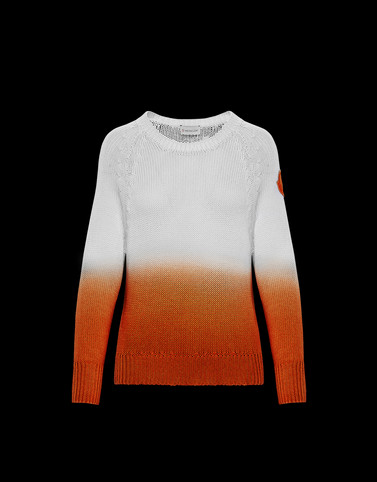 CREWNECK Orange Category Crewnecks Woman