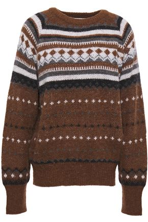 RE/DONE Jacquard-knit sweater