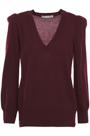AUTUMN CASHMERE Gathered cashmere sweater