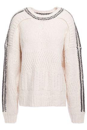 IRO Beeb layered chunky-knit sweater
