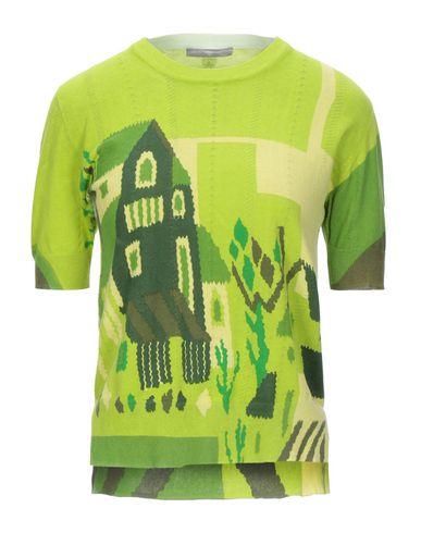 Фото - Женский свитер HIGH by CLAIRE CAMPBELL кислотно-зеленого цвета