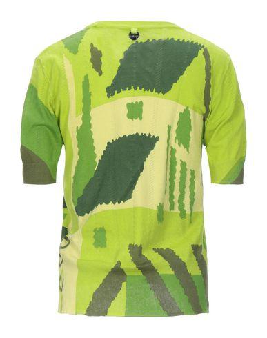 Фото 2 - Женский свитер HIGH by CLAIRE CAMPBELL кислотно-зеленого цвета